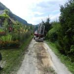 Urejanje obvozne ceste